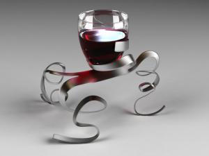 Modern cupholder