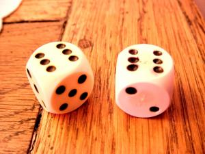 Dice with lucky
