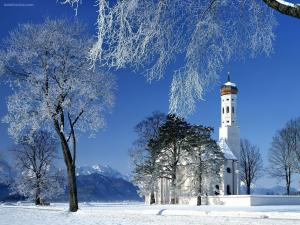 St. Coloman Church, Schwangau, Bavaria, Germany