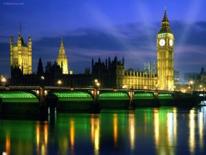 Palace of Westminster (in night), London