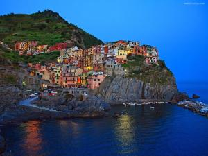 Manarola, to northern Italy