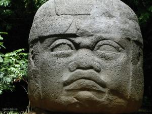 Olmec Stone Head (Tabasco, Mexico)