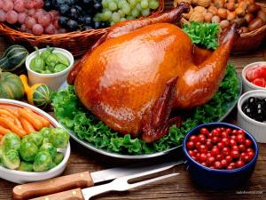 A tasty turkey, and other foods