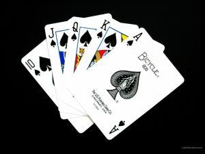 Royal Flush of Spades