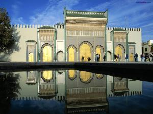 Doors of Royal Palace, Morocco