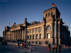 The Reichstag building (Berlin)