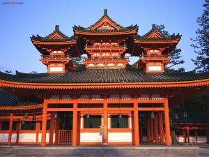 Heian Jingu Shrine (Japan)