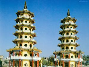 Dragon and Tiger Pagodas (Taiwan)