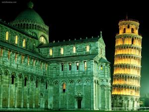 The Duomo and the Bell Tower (Pisa, Italy)