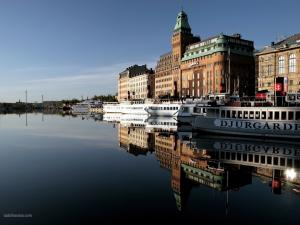 Downtown Stockholm, Sweden