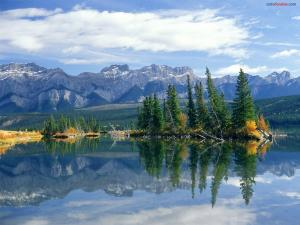 Talbot Lake, in Jasper National Park (Canada)