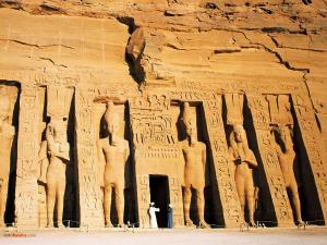 Temple of Nefertari at Abu Simbel (Egypt)