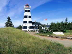 Lighthouse in Prince Edward Island (Canada)