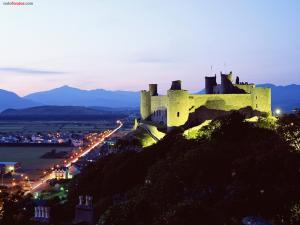 Harlech Castle (Wales, United Kingdom)