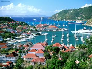 Gustavia, capital of Saint Barthélemy (France)