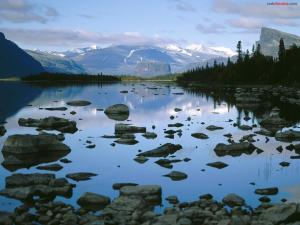 Laitaure Lake (Lapland, Sweden)