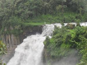 Waterfall near Bogota, Colombia