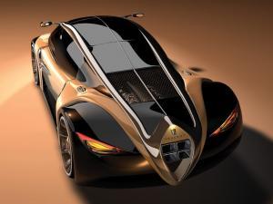 Futuristic Peugeot