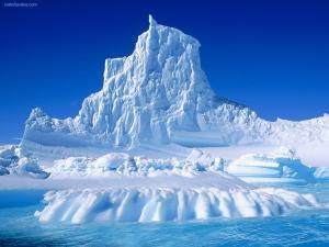 Iceberg, ice mountain
