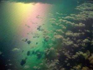 Rainbow from the sky