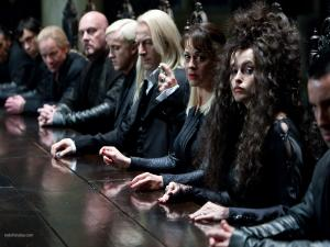 The Death Eaters, in Harry Potter and the Deathly Hallows