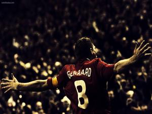 The Liverpool player Steven Gerrard