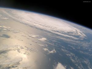 The atmosphere that covers the planet Earth
