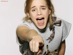 Emma Watson is laughing at you