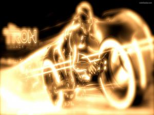 Motorcycle of Tron Legacy
