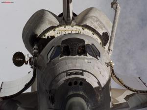 Front space shuttle