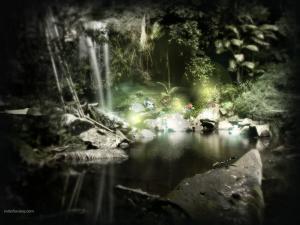 A magical hideaway