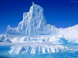 Pointed iceberg