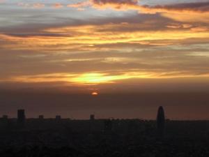Dawning in Barcelona