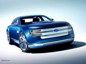 Futuristic Ford model