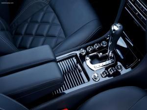 Inside of a Bentley