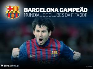 F.C. Barcelona, winner FIFA Clubs World Cup 2011