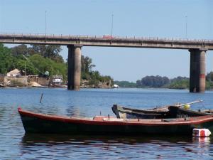 Río Negro in Mercedes, Uruguay