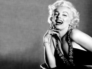 The smile of Marilyn Monroe