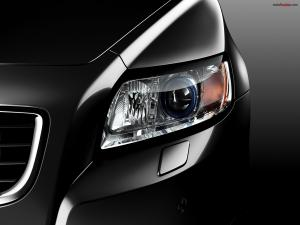 Car light of a black car