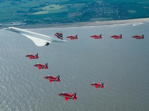 Escort aircraft