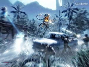 Alien attack in Crysis