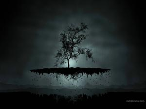 Tree levitating