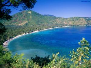 Great circular beach