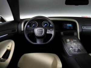 Inside an Audi