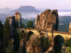 Aqueduct between large stones