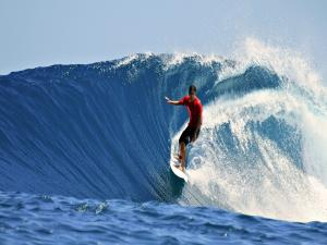 Surfing the wave