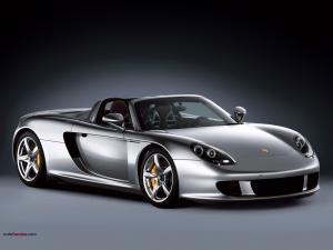 Silvered Ferrari