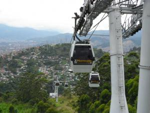 Metrocable Cable Car (Medellin, Colombia)