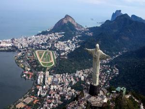 Overview of Rio de Janeiro with Cristo Redentor