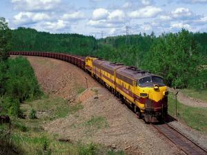 Freight transport train